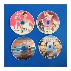 Set of 18 Random DVDs, Discs Only FREE SHIPPING